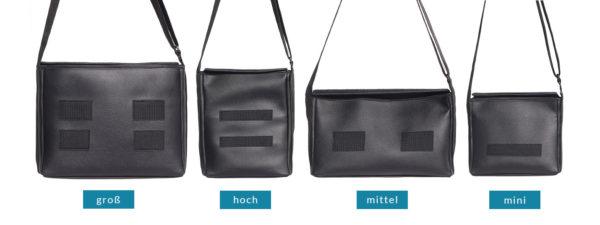 Alle Größen der Basebags