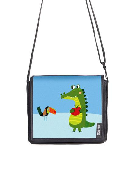 Kindergartentasche - 2042 Kroko