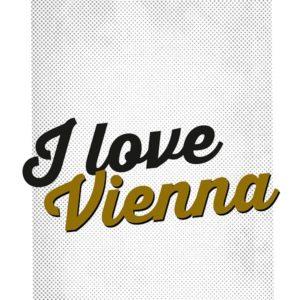 """Lasche 2040 """"I love Vienna"""""""