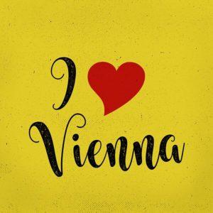 """Lasche 2041 """"I love Vienna"""""""