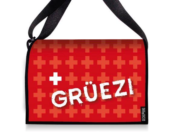 Tasche mit Wechselcover - 2142 Gruezi