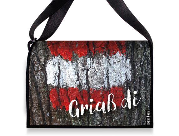 Tasche mit Wechselklappe - 2144 GriassDi