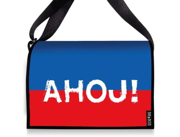 Tasche mit Wechselklappe - 2145 Ahoj