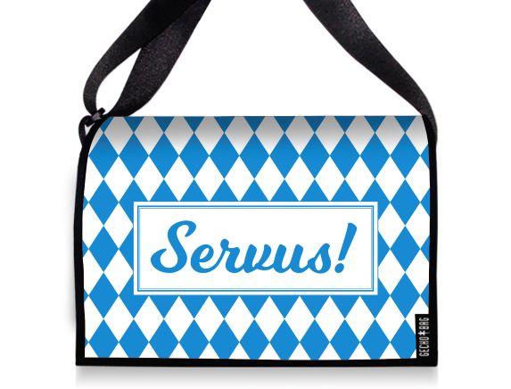 Tasche mit Wechselklappe - 2146 Servus
